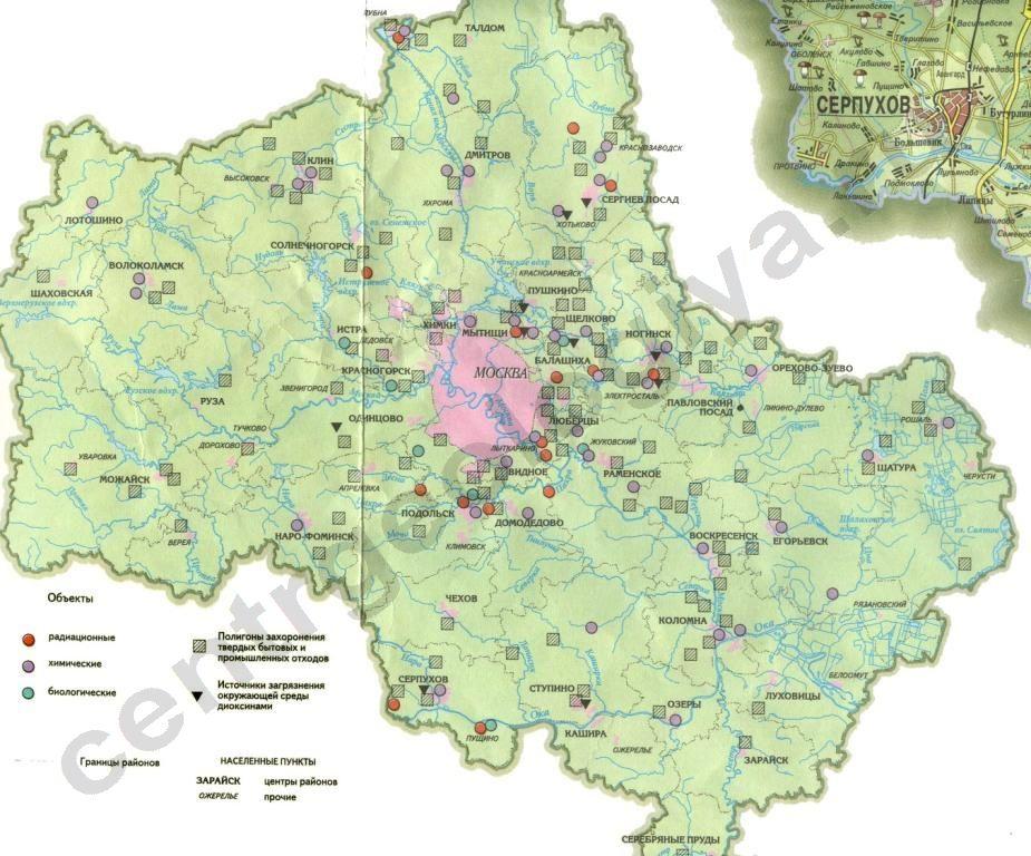 карта московской области скачать бесплатно - фото 3