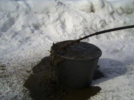 грязь при промывки